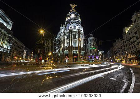 Nightlife Of Madrid