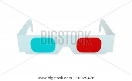 Stereoscopic 3D Glasses For 3Dtv Isolated