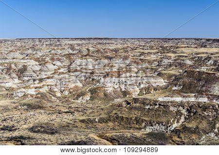 Badlands At Dinosaur Provincial Park