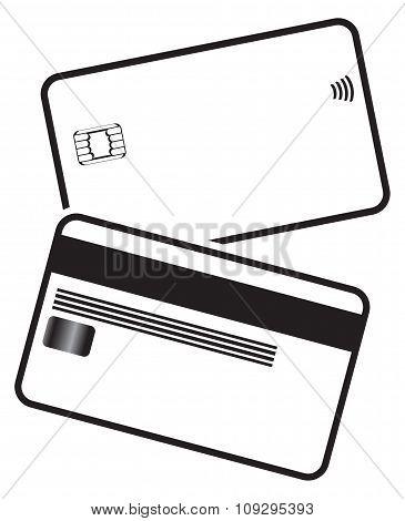 Debit Card Silhouettes