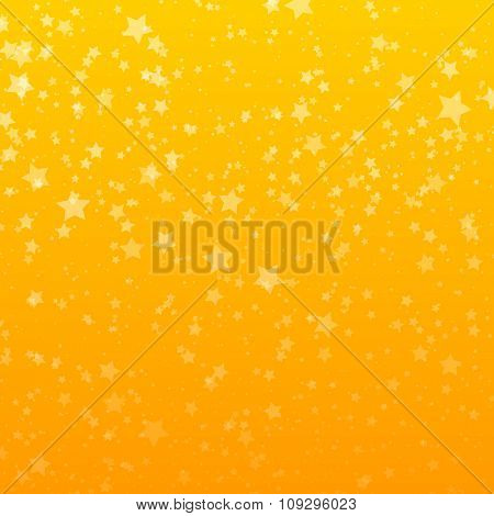 Background with Stars. Design Template. Abstract Vector Illustration.
