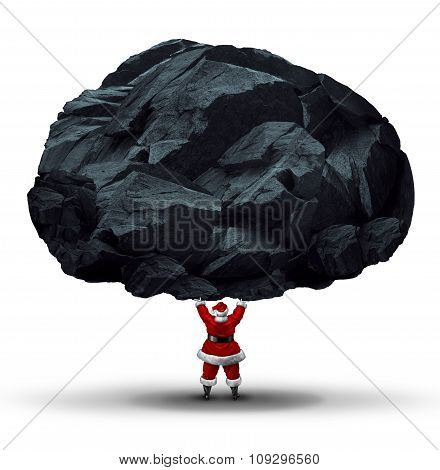Lump Of Coal Symbol