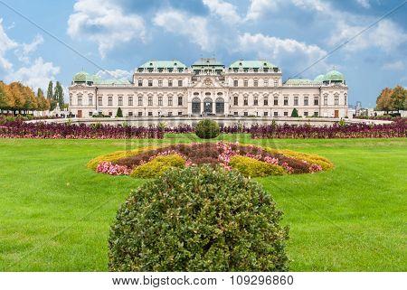 Belvedere Palace Vienna, Austria.