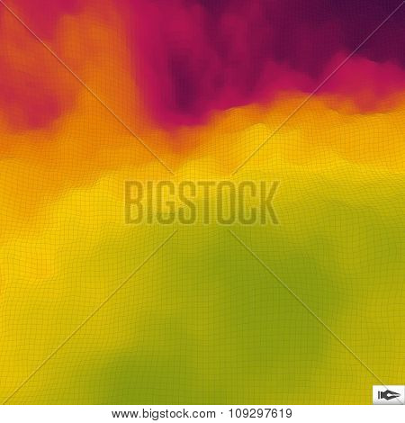 Polygonal Mosaic Background. Vector Illustration.