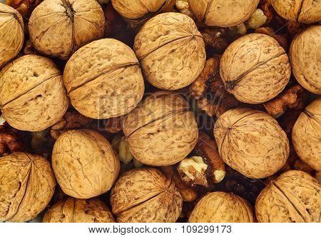 Walnuts Closeup