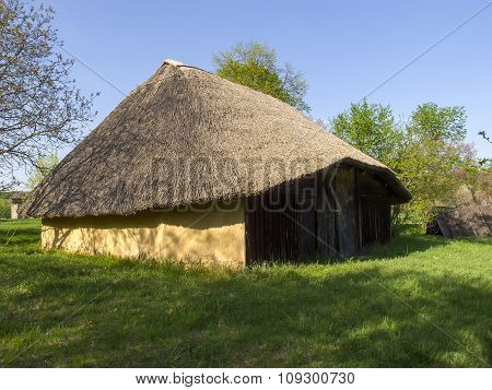 Small Cottage In Pirogovo Museum Near Kiev, Ukraine