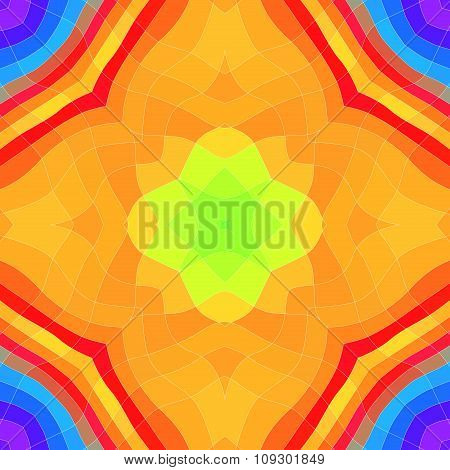 Seamless Vibrant Colored Pattern Or Background