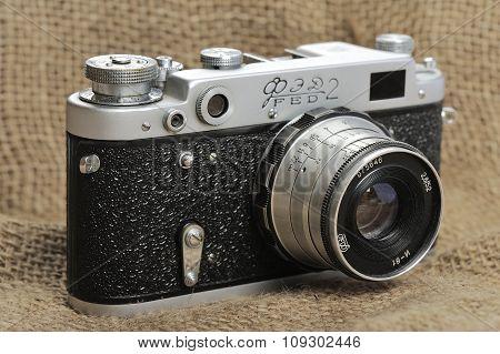 Soviet Vintage Camera FED 2