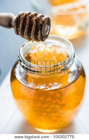 Farm Fresh Organic Honey In Jar