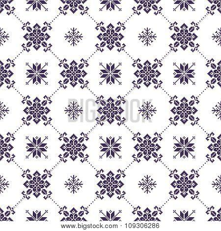Seamless christmas patterns