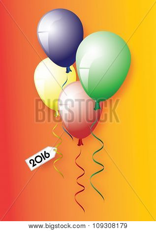 2016 tag and balloons