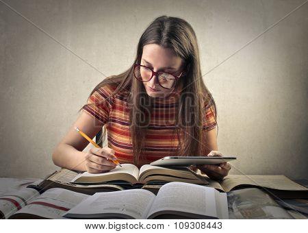 Hard study