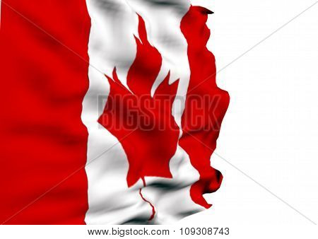 Image of a flag of Canada