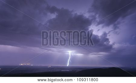 Landscape With Storm