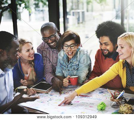 Start up Business Team Meeting Ideas Concept
