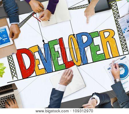 Developer Development Improve Skill Concept