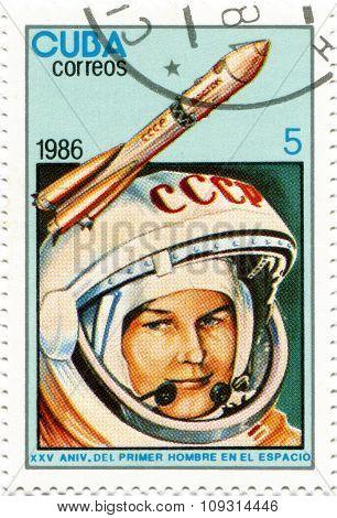 Valentina Tereshkova Vladimirov - first woman astronaut