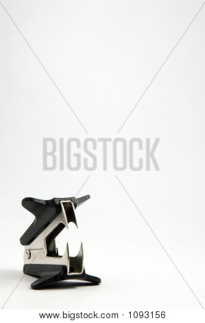 Staple Remover Isolated On White Background