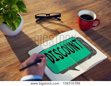 Discount Retail Sale Promotion Marketing Concept