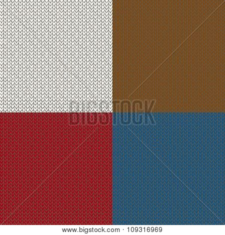 Seamless knited patterns