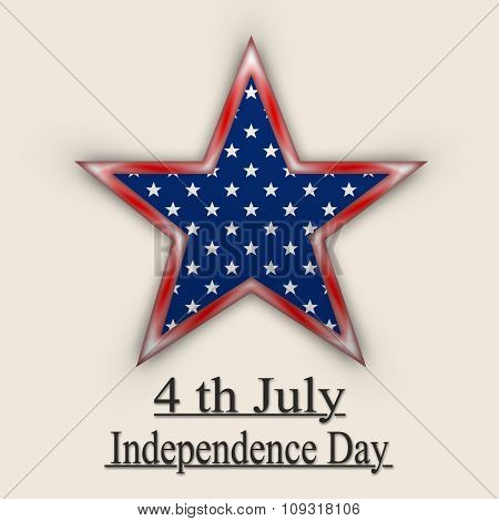 American Independence Day. Big Star