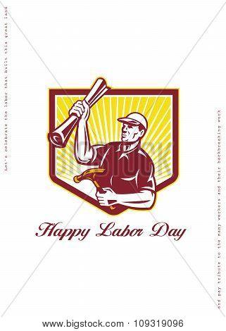 Labor Day Greeting Card Builder Plan Hammer
