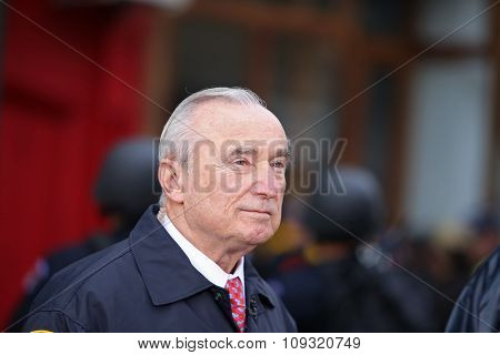 NYPD commissioner William Bratton