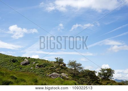 Beautiful View Of A Rocky Landscape