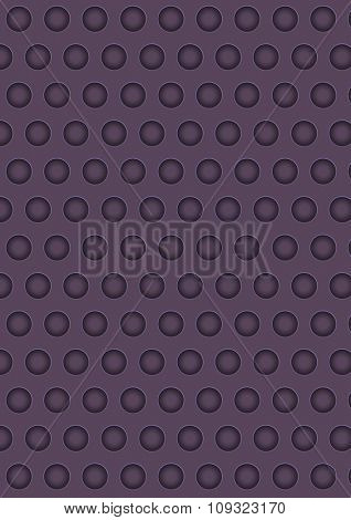 Artificial perforated metal plate texture