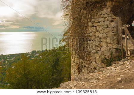 Anakopia Fortress In Abkhazia New Athos