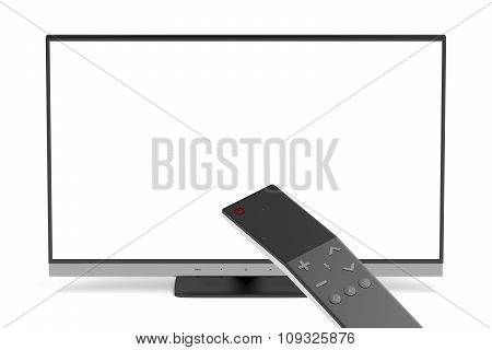 Tv And Remote Control