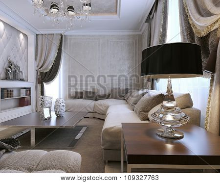 Living Room Avangard Style