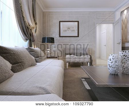 Living Room Art Deco Style