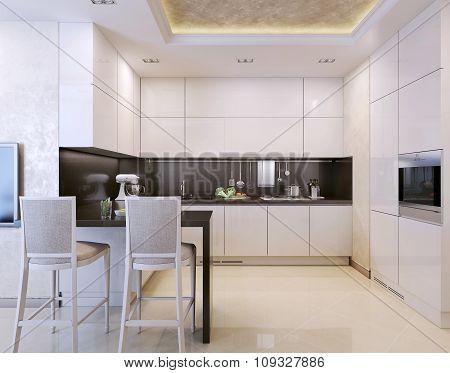 Kitchen Art Deco Style