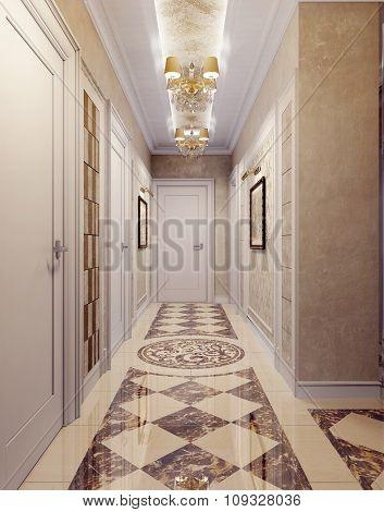 Corridor Classic Style