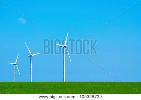 Wind Turbines In Bulgaria