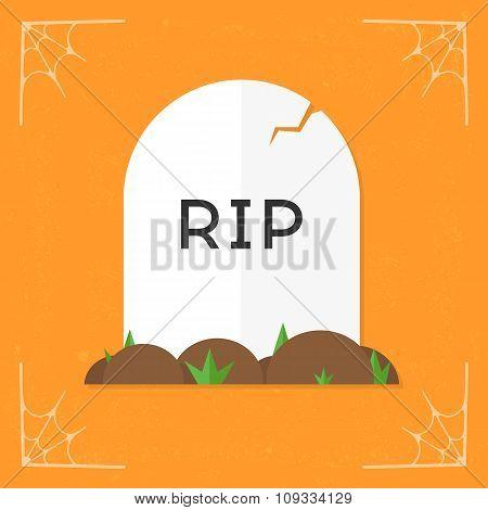 Grave / RIP icon vector
