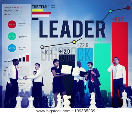 Leader Leadership Chief Team Partnership Concept