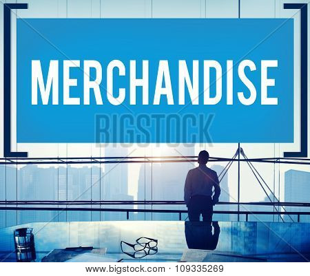 Merchandise Product Marketing Consumer Sell Products Customers Concept