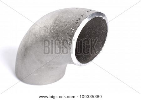 Steel welding elbow