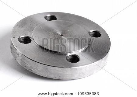 Steel welding flange