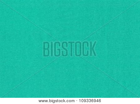 Turquoise crepe paper.