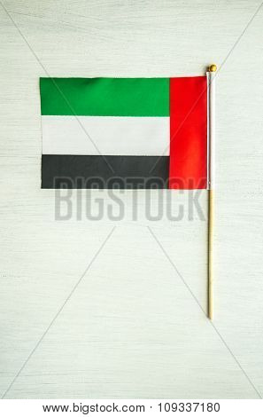 Small flag of United Arab Emirates.