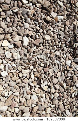 Background of rock pebble stones