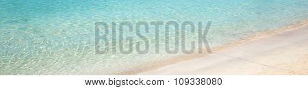 Es Trenc Beach With White Sand And Turquoise Sea