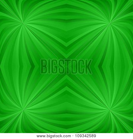 Seamless green twirl pattern background
