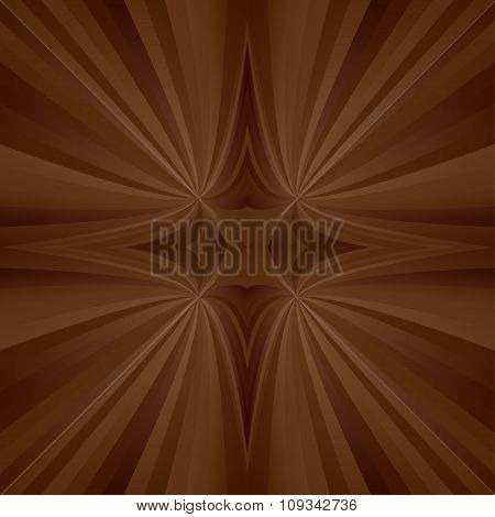 Brown mirror ray background
