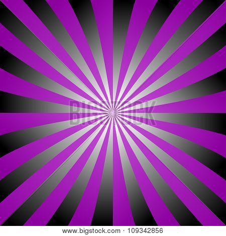 Purple black white ray burst design