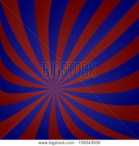 Red blue vortex design