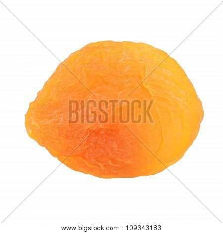 Dried Apricot Fruit Closeup